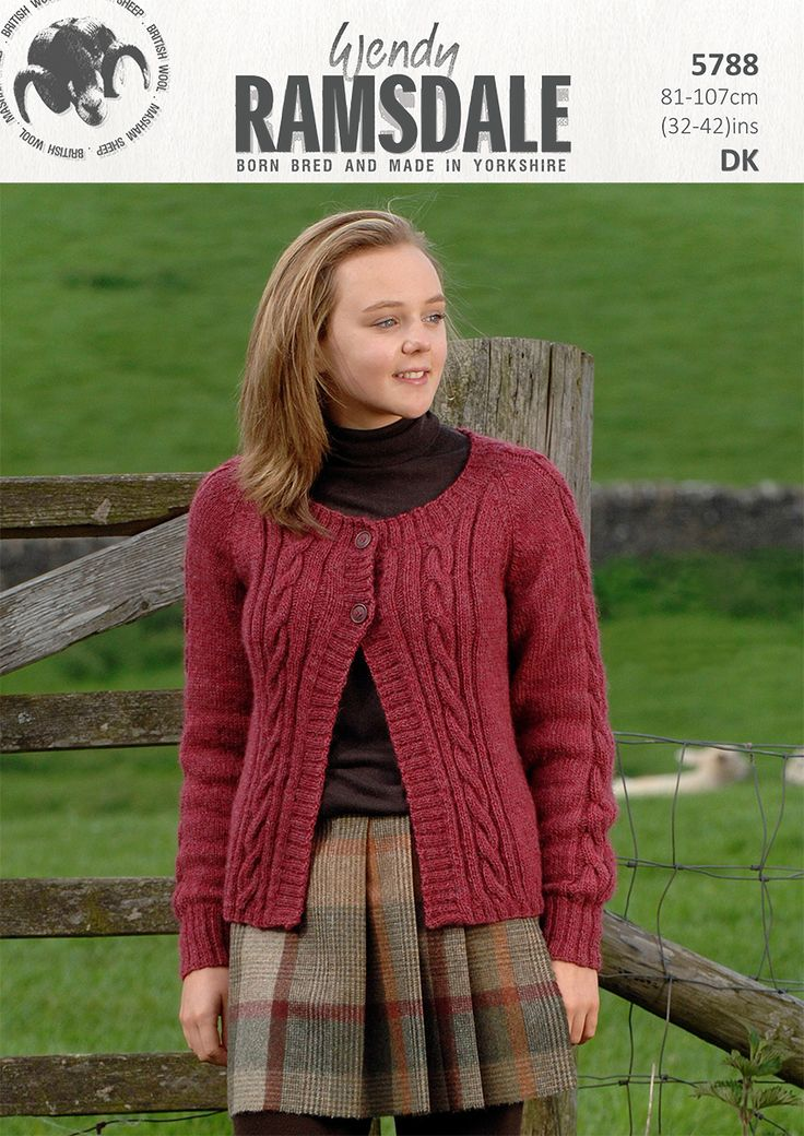 5788 - Wendy Ramsdale dk - born bred and made in Yorkshire http://www.tbramsden.co.uk/catalog/patterns/womens/5788
