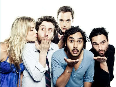 Big Bang Theory... they're so cute... except for sheldon. you stay in the back. lol.@Gloria Celia