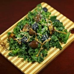 Warm Mushroom Salad by fooddonelight