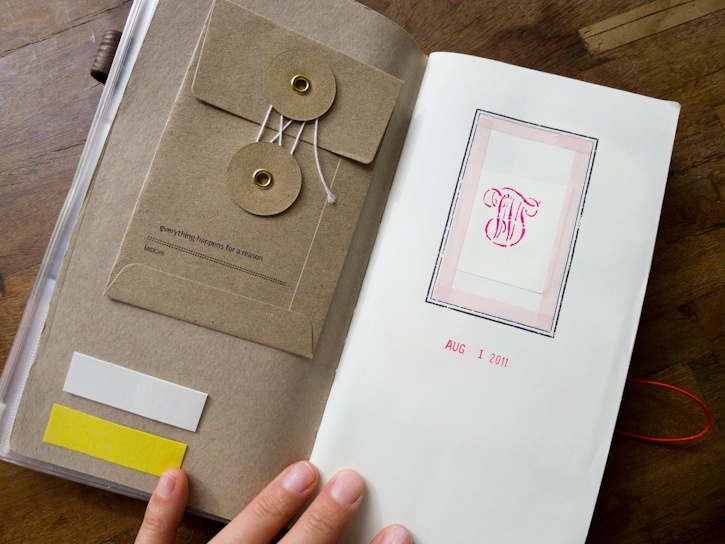 Baum-Kuchen: How I am using my Traveler's Notebook