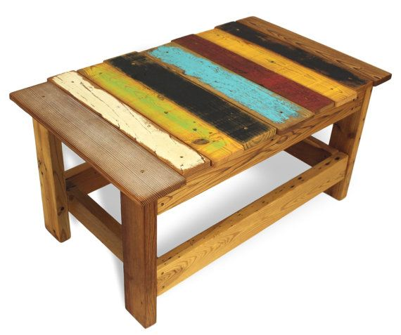 explore recycled wood furniture