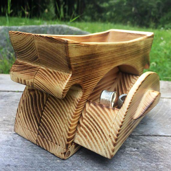Jewelry organizer bandsaw box