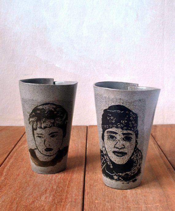 Ceramic Coffee  & Tea Cup, Pottery Coffee Mug, #housewares @EtsyMktgTool http://etsy.me/2jCf4q1