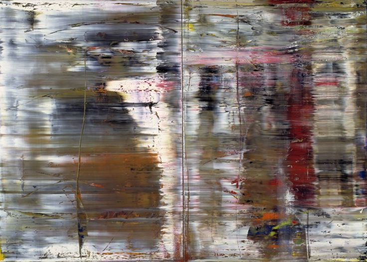 Abstract Painting (726) (1990) / by Gerhard Richter