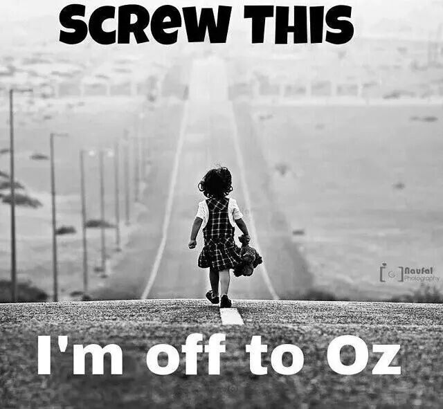 Off to Oz