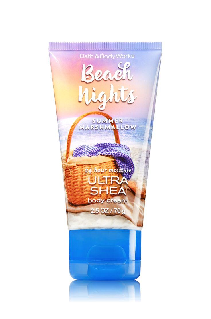 Beach Nights - Summer Marshmallow Fun Size Body Cream - Signature Collection - Bath & Body Works
