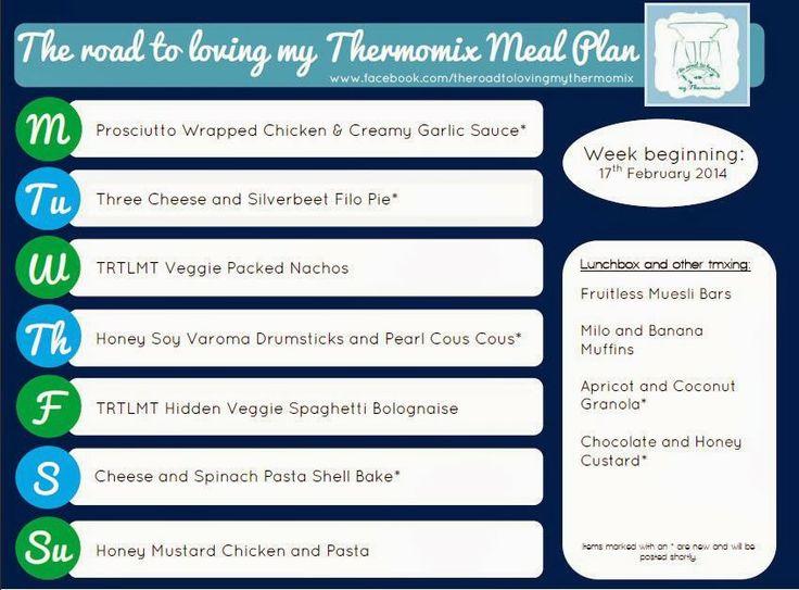 TRTLMT Meal Plan 17.2.2014