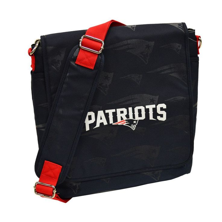 New England Patriots Coach Messenger Baby Diaper Bag