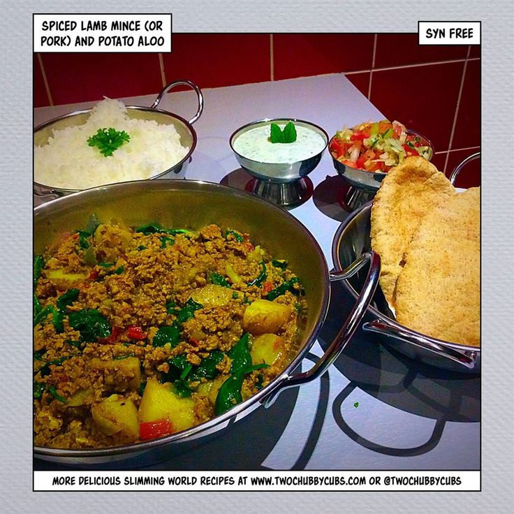 this syn free spiced lamb mince and potato aloo kheema recipe is a great Fakeaway idea that looks and tastes fantastic! A perfect meal for all of the family! Remember, at www.twochubbycubs.com we post a new Slimming World recipe nearly every day. Our aim is good food, low in syns and served with enough laughs to make this dieting business worthwhile. Please share our recipes far and wide! We've also got a facebook group at www.facebook.com/twochubbycubs - enjoy!