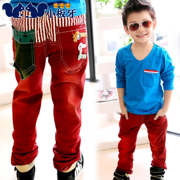 2013 autumn korean version of the big boy in striped clothing children boy casual pants long pants z0889 only $15.41USD a Piece