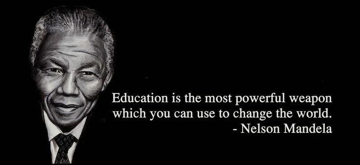 Mandela Famous Quotes On Education. QuotesGram