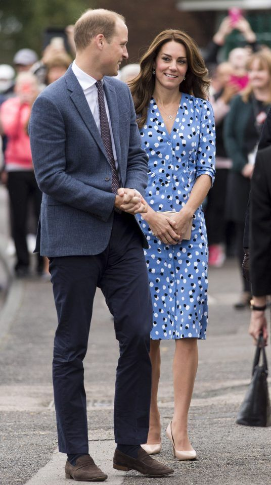The Duke & Duchess Of Cambridge Visit Stewards Academy With Heads Together