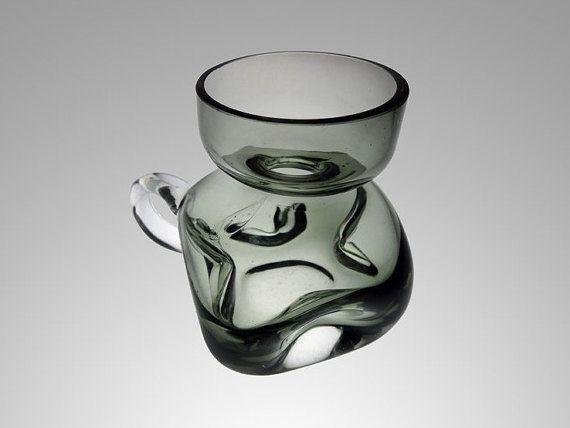 Vintage Friedrich Kristall Mundgeblasen door TheVintageGlassShop