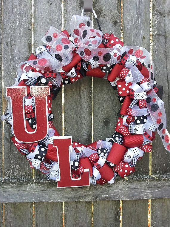 University of Louisville Wreath with LIGHTS $69.50