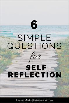 6 Simple Questions for Self-Reflection - a FREE printable worksheet. Faith, soul care, life, journaling, God.