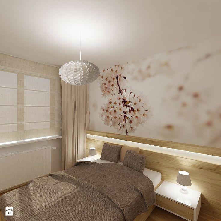 Sypialnia - Styl Nowoczesny - 4ma projekt