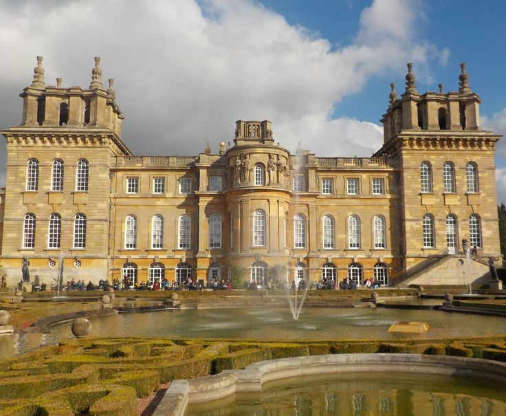 Outdoor family fun at Blenheim Palace near Oxford