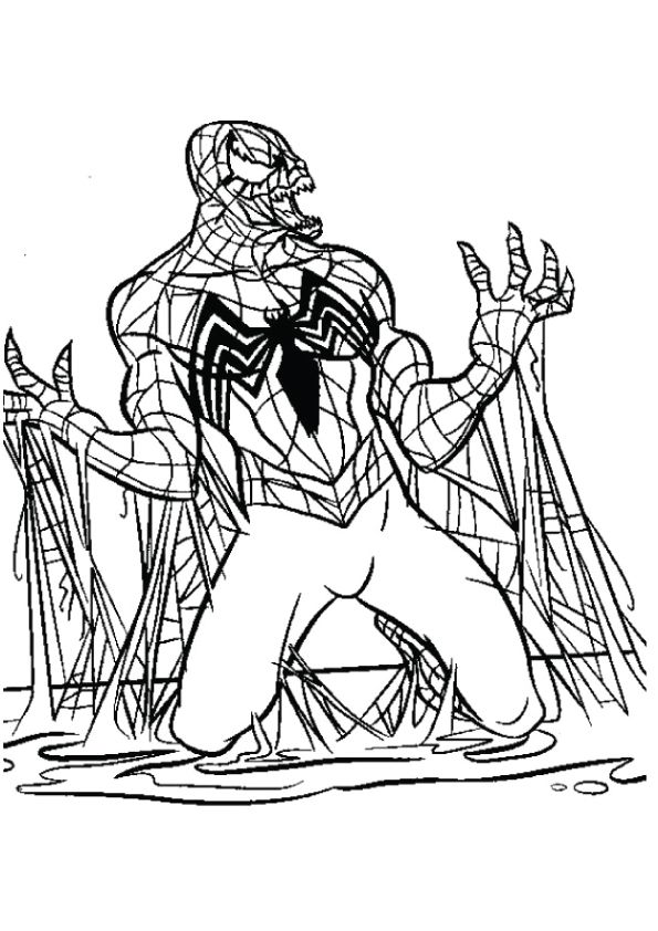 Coloring Page Spiderman Coloring Black Spiderman Coloring Pages To Print
