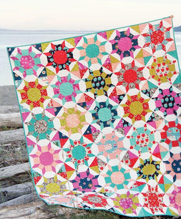 Shimmer Quilt Pattern, Cluck Cluck Sew