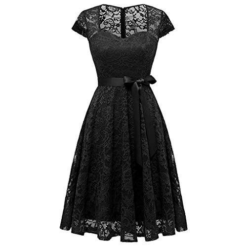 Damen Abendkleider Partykleid elegant 50er Jahre Petticoat ...