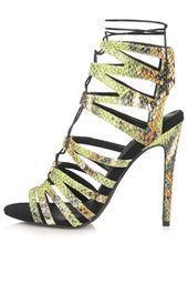 RUPA Snake-Effect Ghillie Sandals