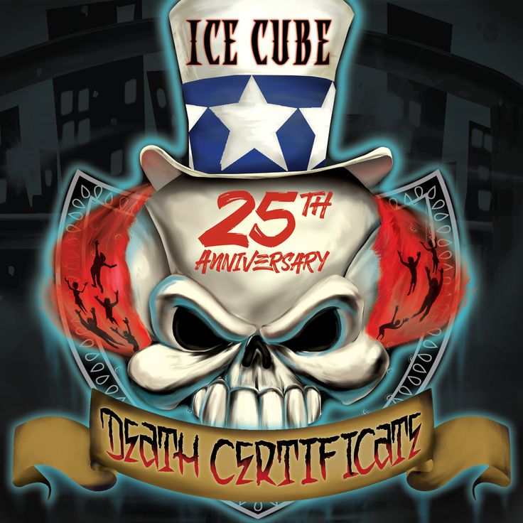 Ice Cube's-Death Certificate Redesign by Rawtoons