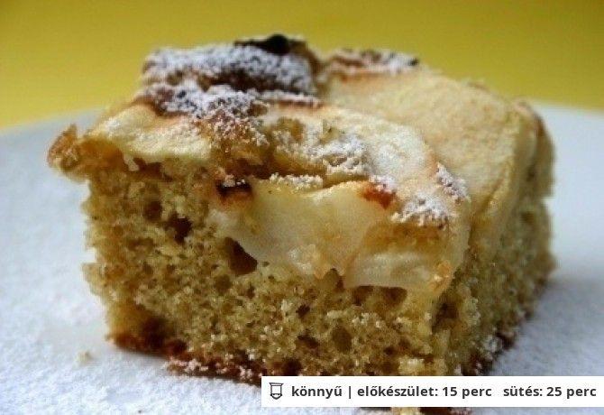 Almás sütemény http://www.nosalty.hu/recept/almas-sutemeny