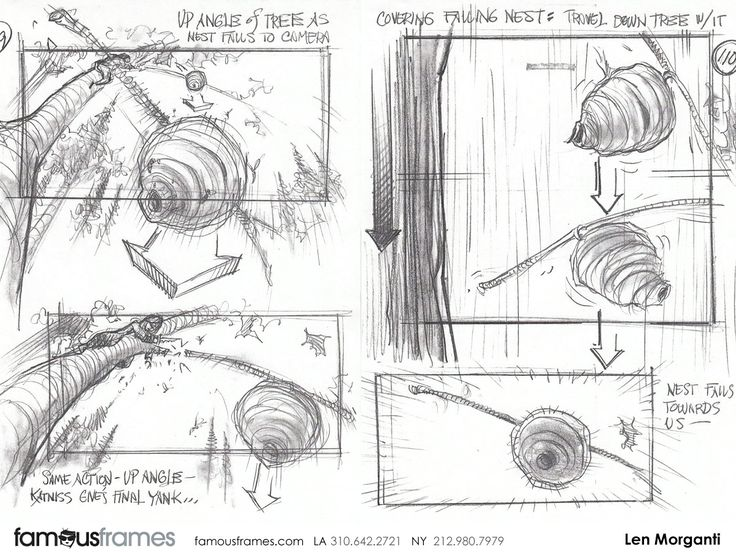 Best Movie Storyboard Images On   Storyboard Artist