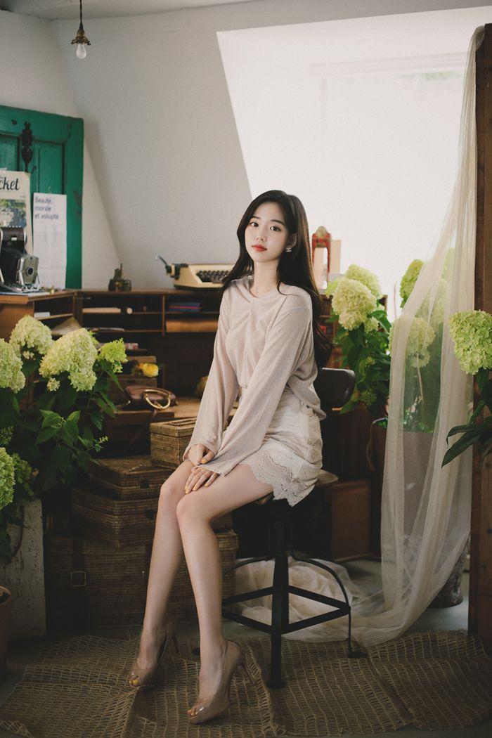 レースaラインミニスカート レディースファッション通販 dholicディーホリック ファストファッション 水着 ワンピース エレガンススタイル エレガンスファッション 美しいアジア人女性