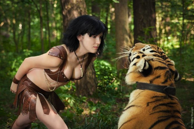 Amazon and real tiger