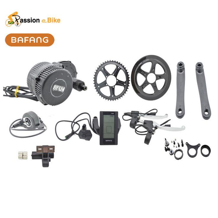 Bafang BBS02 48V 750W Ebike Electric bicycle Motor 8fun mid drive electric bike conversion kit