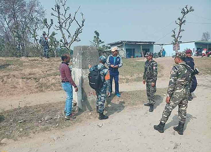 More than 50 percent of the boundary pillars between Khakraula in Kailali and Bramhadev in Kanchanpur along the Nepal-India border are either missing or in a state of disrepair, according to a recent survey conducted by a joint team from the two countries. Follow us @nepalmn2011 #nepal #news