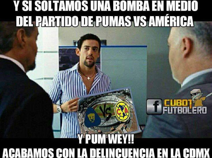 Los mejores memes del juego entre Pumas y América