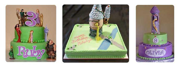 κοριτσίστικο πάρτυ ραπουνζέλ τούρτες 2