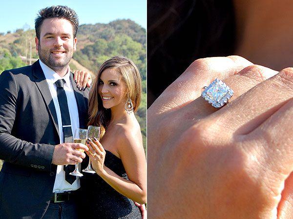 269 best Celebrity Engagement Wedding Rings images on Pinterest