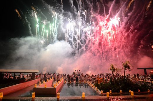 Each moment was more spectacular than the next at the Grand opening of Grand Hyatt Playa del Carmen. Cheers to Living Grand in Mexico.