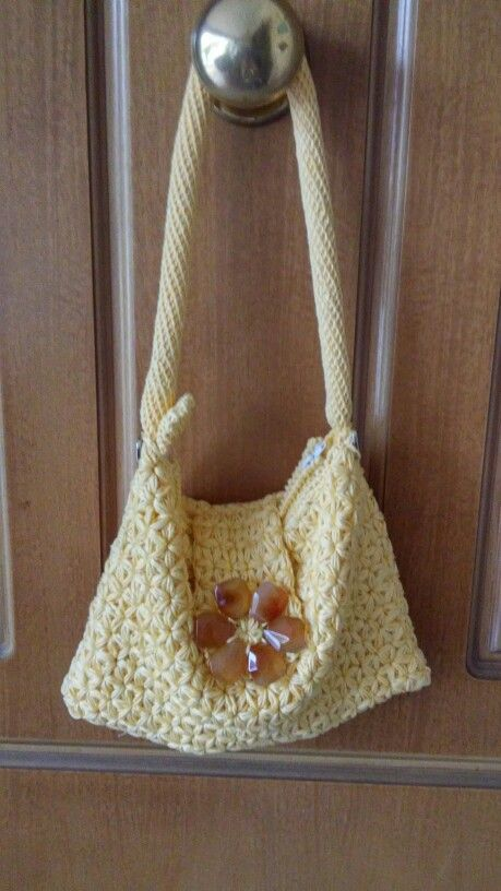 Crochet La borsetta Margherita