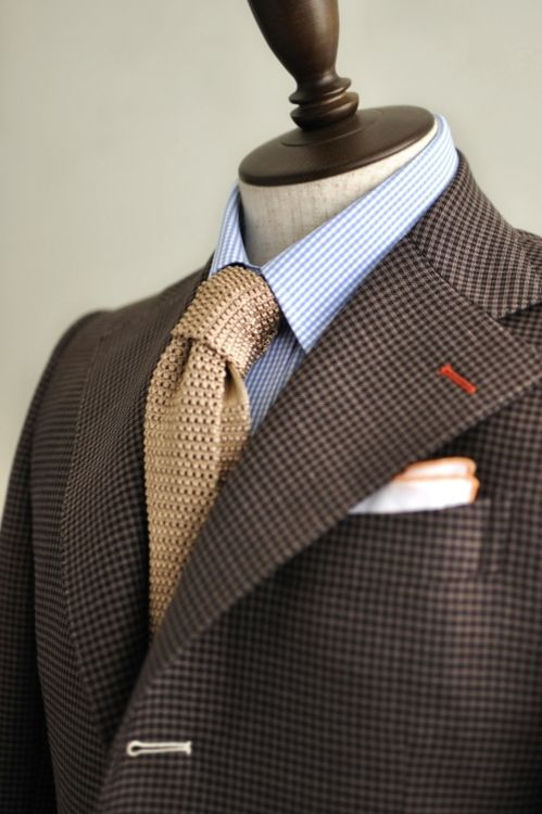 The buttonholes...the combination