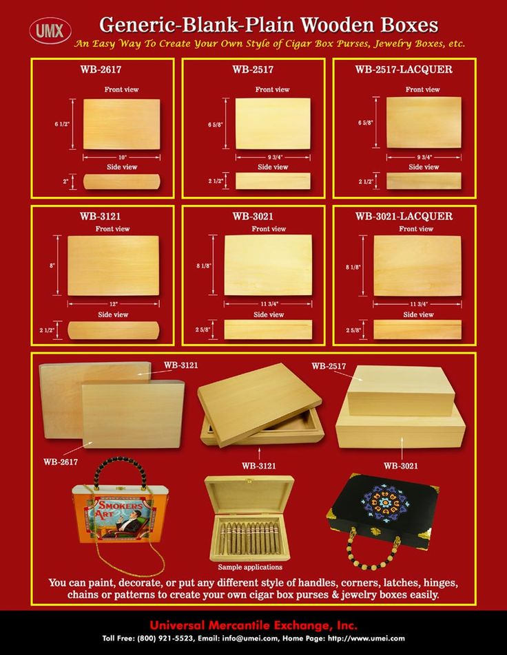 Generic, Blank, Plain Cigar Box Purses, Wood Boxes, Jewelry Boxes, Wooden Boxes.