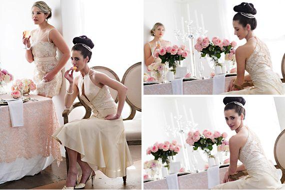 Wedding friends Styled Shoot Ballet Inspired #EcoBride