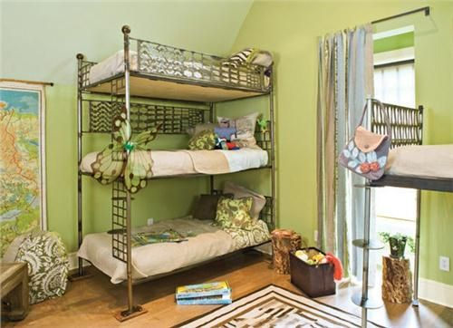 Light Transitional Kid's Room by Traci Kearns on HomePortfolio