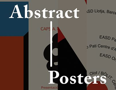 """Check out new work on my @Behance portfolio: """"5 Abstract Posters"""" http://be.net/gallery/32022747/5-Abstract-Posters"""