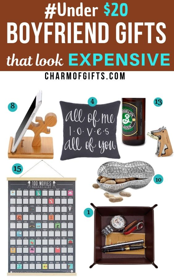These Boyfriend Gifts Are All Under $20 BUT They Look Expensive!