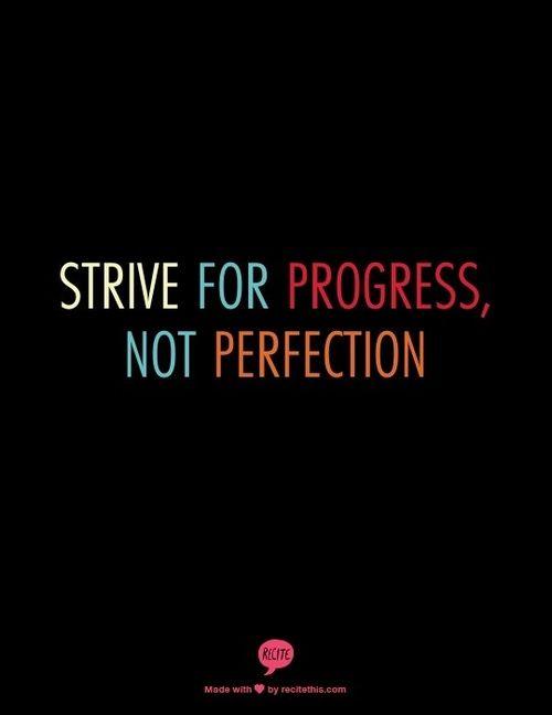 Inspirational Baby Names #progress #perfection