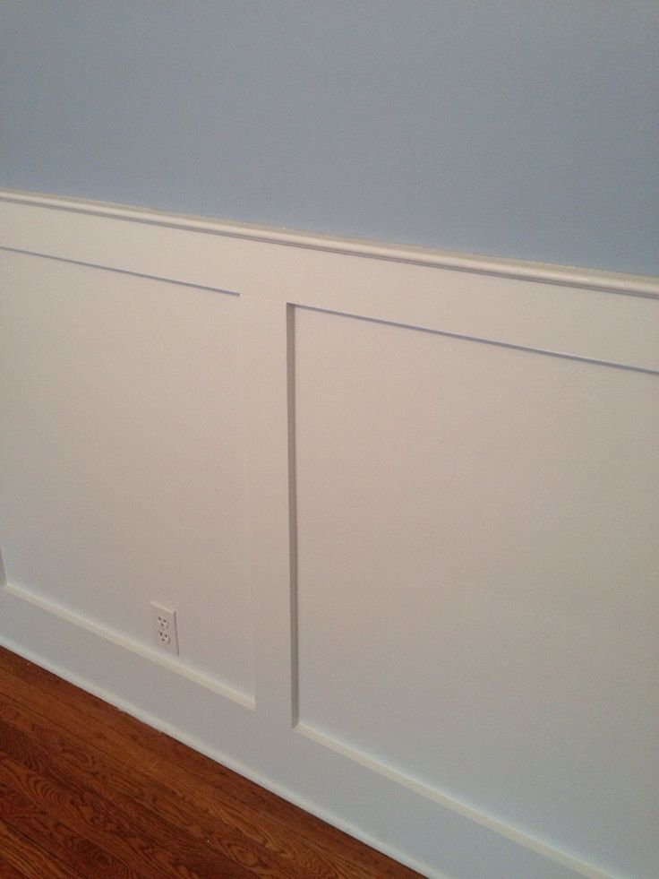 Mission Style Paneling : Shaker style chair rail or wainscotting kitchen
