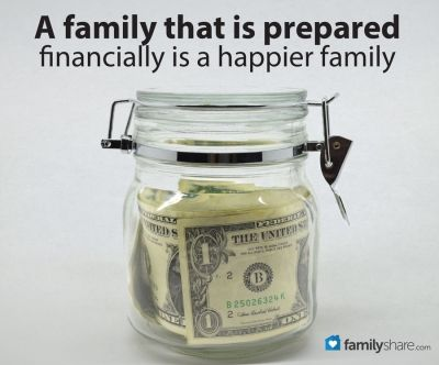 It is important that you take some of what you earn and put it away for the future. A family that is prepared financially is a happier family. 6 reasons for saving cash for your family.