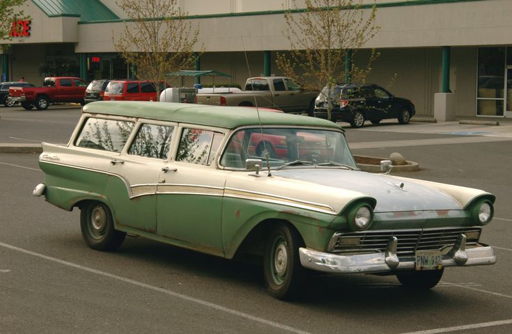 1959 Ford wagon patina Google Search Automoviles