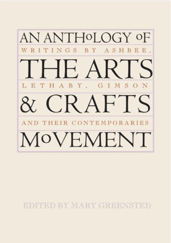 essays on arts and crafts movement