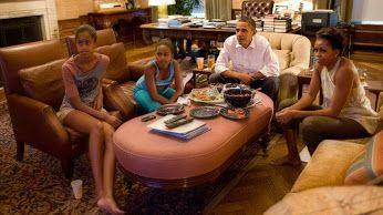 Μπάρακ Ομπάμα. Ζωγραφική και μουσική (από άλμπουμ βινυλίου) #art #decoration #painting #Whitehouse #fragilemagGR http://fragilemag.gr/obama-house/