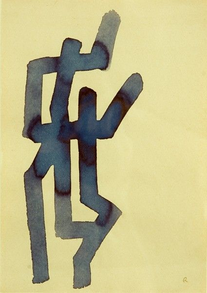 A. R. Penck  Untitled, 1969  ink on paper  29 x 21 cmPaper29, Penckuntitled 1969Ink, Untitled1969 Ink, Penck Untitled 1969Ink, 21Cm, Penckuntitled 1969 Ink, Size Paper, Paper 29, Penck Untitled1969